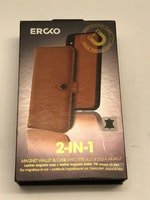 ERCKO AIRFLEX MAGNET CASE AND WALLET IPHONE X/XS COGNAC
