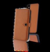 ERCKO 2-1 AIRFLEX MAGNET CASE AND WALLET IPHONE XR COGNAC