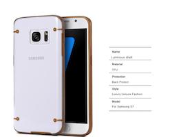 Samsung Galaxy S7 Skal Guld