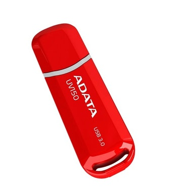 ADATA UV150 USB minne, 32GB, USB 3.0, röd