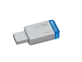 Kingston DataTraveler 50, USB 3.1 Gen 1-minne, 64GB