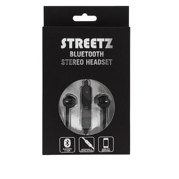 STREETZ Bluetooth in-ear headset  Bluetooth 4.1 svart