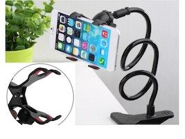 Ny Universell Flexibel Hållare Arm Lazy Mobiltelefon Gooseneck Standhållare Stents Flexibel Säng Skrivbord Bordskonsol för Telefon