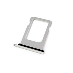 iPhone X Sim-kort tray Silver