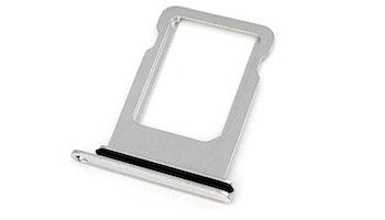 iPhone X Sim-kort tray Silver