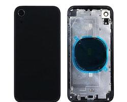 iPhone XR Baksida med Ram Svat