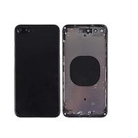 iPhone 8 Plus Baksida med Ram Svart