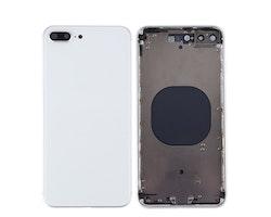 iPhone 8 Plus Baksida med Ram Vit