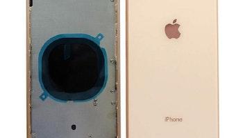 iPhone 8 Plus Baksida med Ram Guld