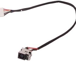 HP Compaq CQ61 DC Power Jack med kabel