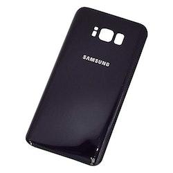 Samsung Galaxy S8 G950F Bak glas Batterilucka Svart
