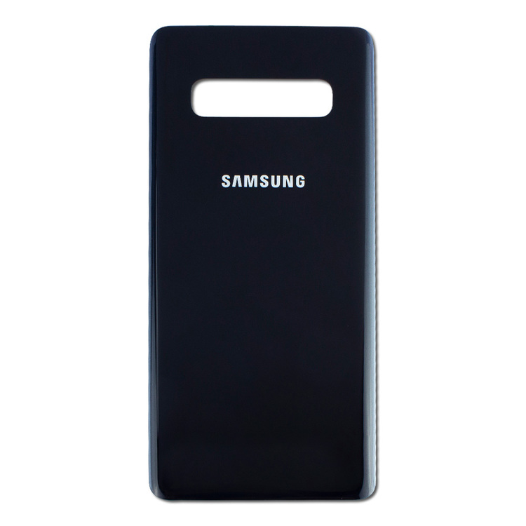 Samsung Galaxy S10 G973f Bak Glas Batterlucka Svart