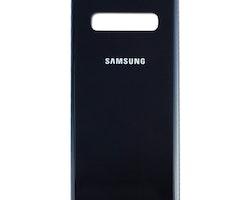 Samsung Galaxy S10 G973f Bak glass Batterlucka Svart