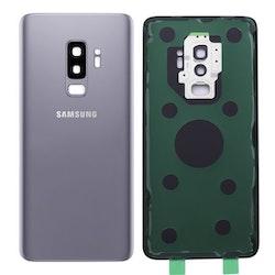 Samsung Galaxy S9 Plus G965f Bak Glas batterilucka Grå