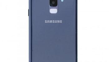 Samsung Galaxy S9 Plus G965f Bak Glas batterilucka Blå