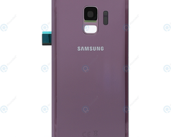Samsung Galaxy S9 G960f Bak Glass batterilucka Rosa
