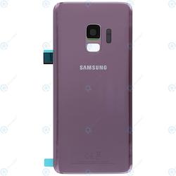 Samsung Galaxy S9 G960f Bak Glas batterilucka Rosa