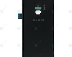 Samsung Galaxy S9 G960f Bak Glass batterilucka Svart