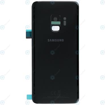 Samsung Galaxy S9 G960f Bak Glas batterilucka Svart