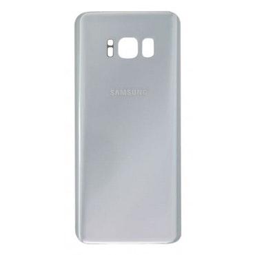 Samsung Galaxy S8 Plus G955f Bak Glas batterilucka Silver