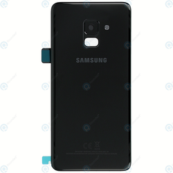 Samsung Galaxy A8 A530 Bak Glas batterilucka Svart