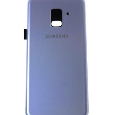 Samsung Galaxy A8 A530 Bak Glas batterilucka Grå