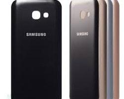 Samsung Galaxy A5 2017 A520 Bak Glass batterilucka svart