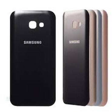 Samsung Galaxy A5 2017 A520 Bak Glas batterilucka svart