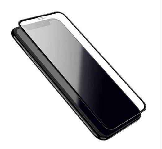 IPHONE 11 PRO MAX/ XS MAX black Härdat Glas Skärmskydd