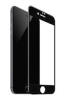 IPHONE 7 Plus/  8 Plus  black Härdat Glas Skärmskydd