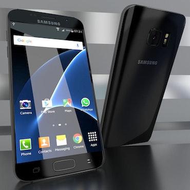 Begagnad Samsung Galaxy S7 Svart ,32GB Olåst