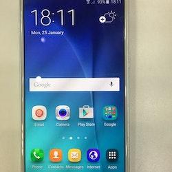 Begagnad Samsung Galaxy S6 Vit,32GB Olåst