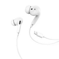 HOCO M1 iPhone Type-C Hörlurar med Mikrofon Vit