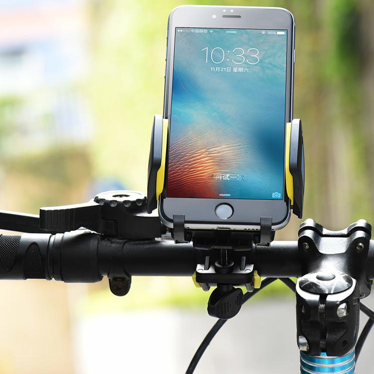 Cykel mobilhållare Svart-Grå