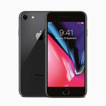 Begagnad Iphone 8 Svart ,64GB Olåst, no touch ID