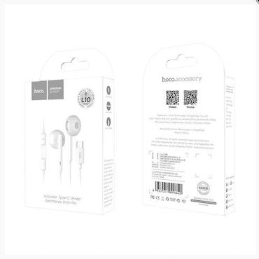 HOCO Earphones Type-C L10 white