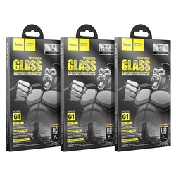"iPhone 12 / mini / Pro / Pro Max screen protector ""G1"" tempered glass"