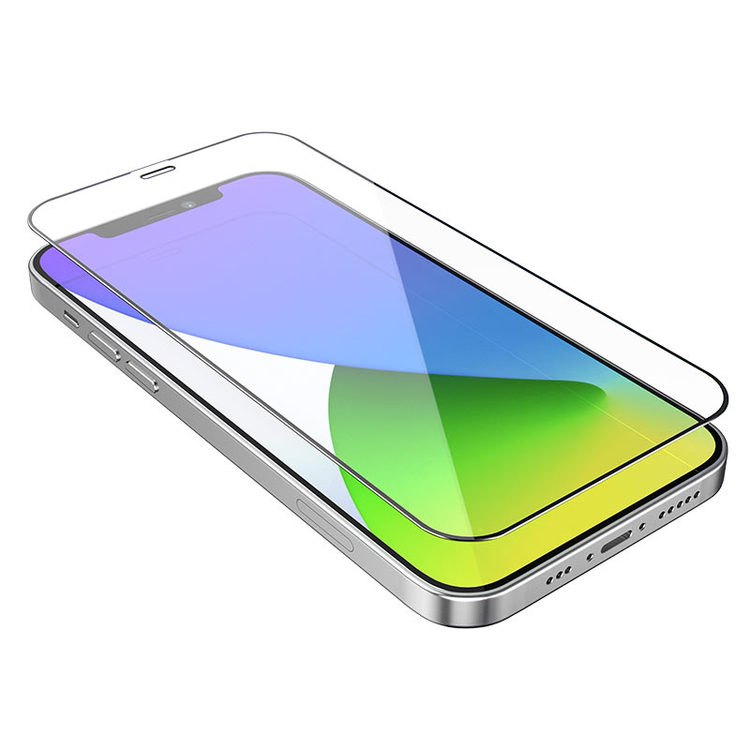 """iPhone 12 / mini / Pro / Pro Max screen protector """"G1"""" tempered glass"""