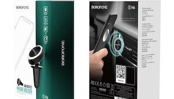 BOROFONE BH6 Platinum in-car phone holder