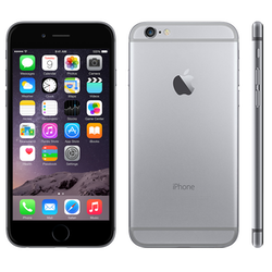 Begagnad iPhone 6 64GB Svart, No touch ID