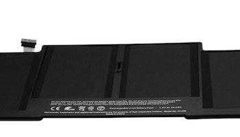 """Batteri för Apple Mackbook Air 13"""" A1405 A1466"""