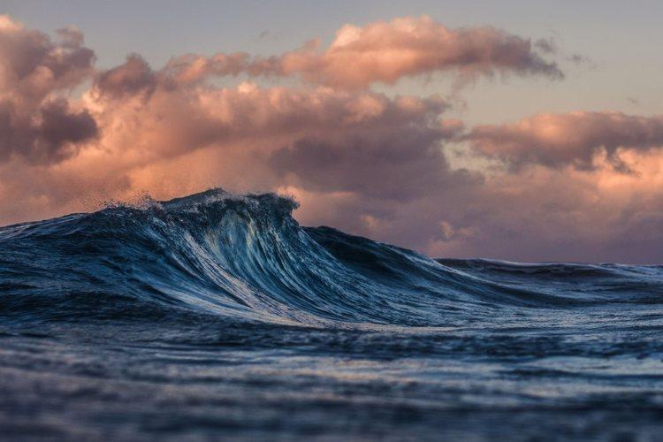 Våg på havet