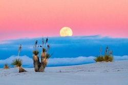 Sol, sand och moln