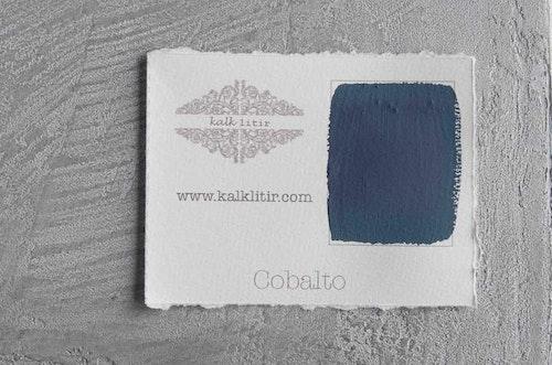 Färgprov kalklitir /Cobalto