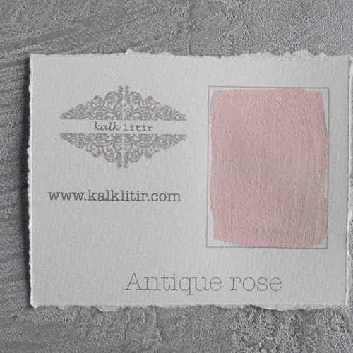 Färgprov kalklitir /Antique rose