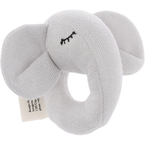 Konges Sløjd /Skallra mini elephant