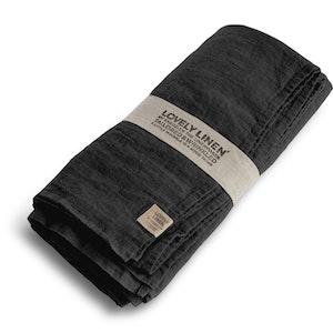 Lovely linen - Duk, dark grey