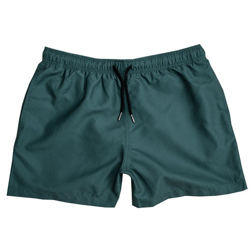 Green ocean swim shorts