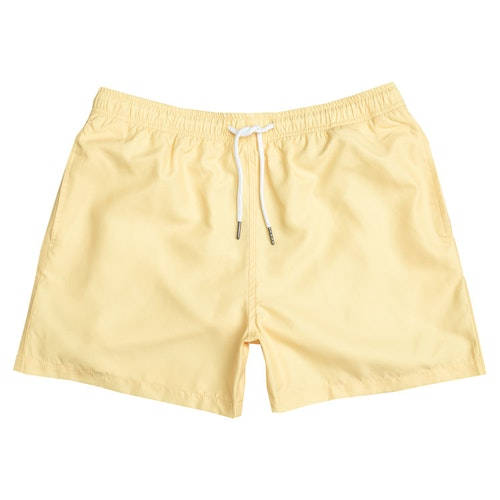 Yellow sun swim shorts