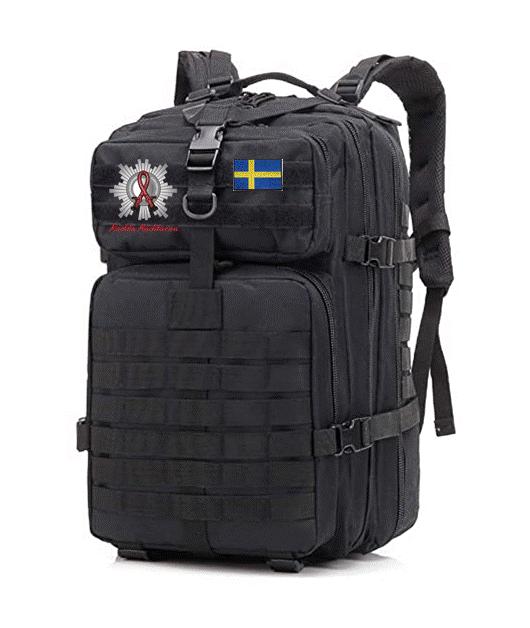 Taktisk Ryggsäck Brandmännens Cancerfond